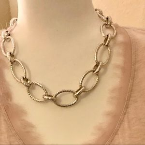 20 inch Juicy Couture Necklace in silver color